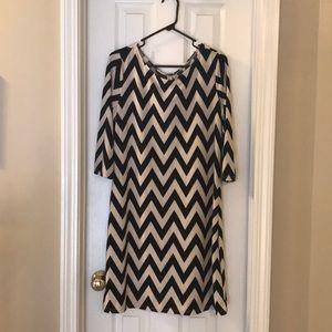 Chevron Tacera dress
